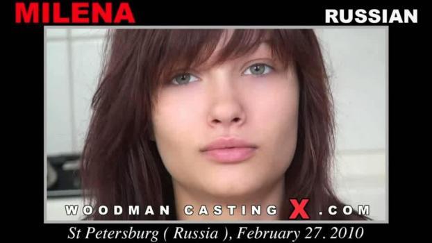 B O R J I E: Woodman Casting - Russian Teen Milena