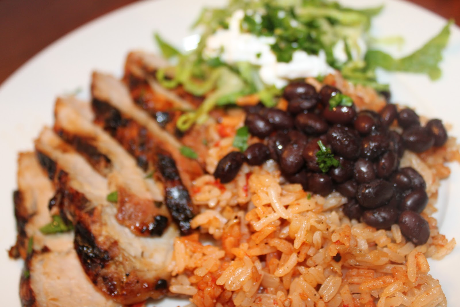... Kitchen: Grilled Pork Tenderloin with Cuban Style Black Beans and Rice