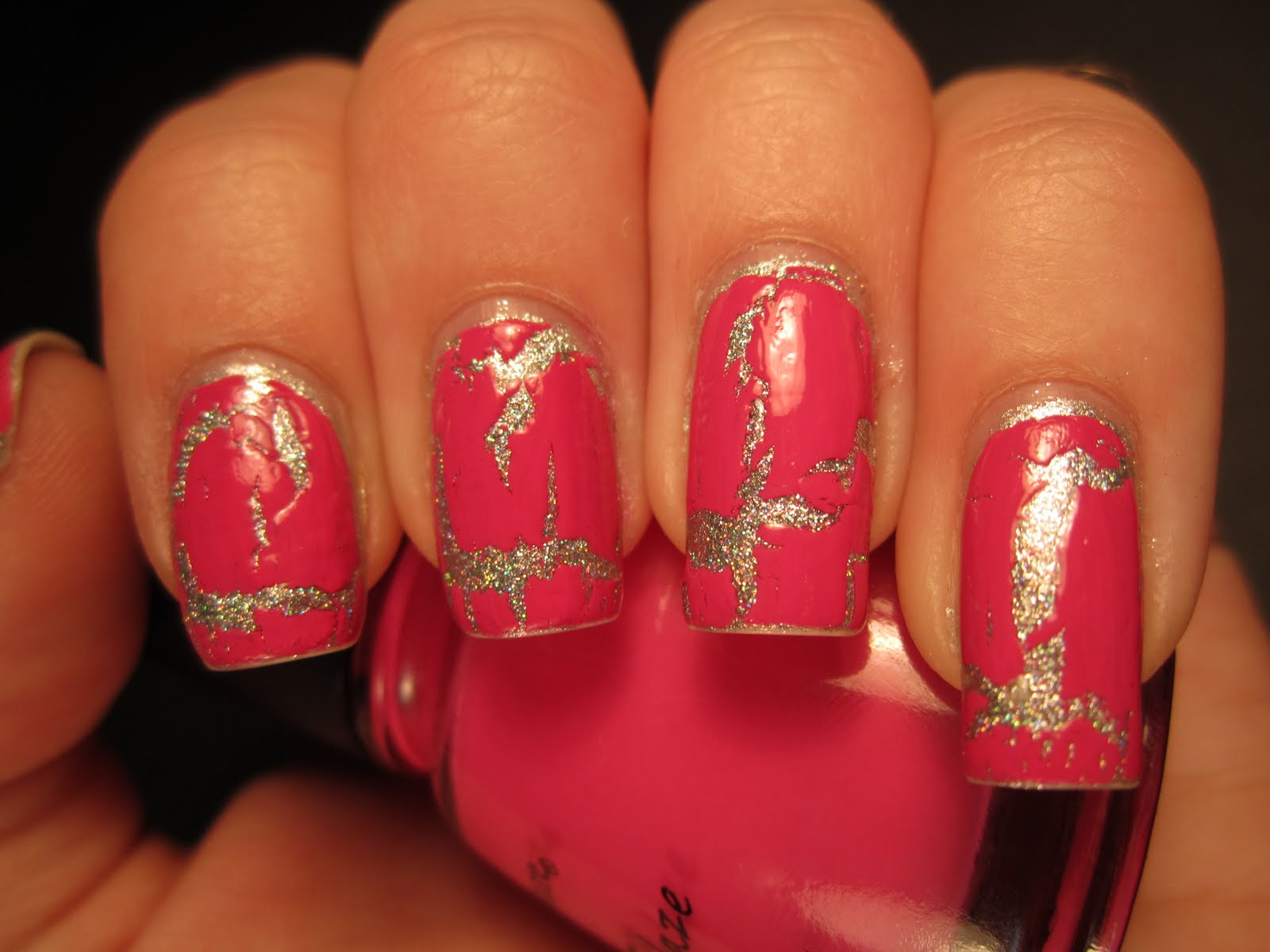 Jessica\'s Nail Art: My first Crackle Nail Polish...