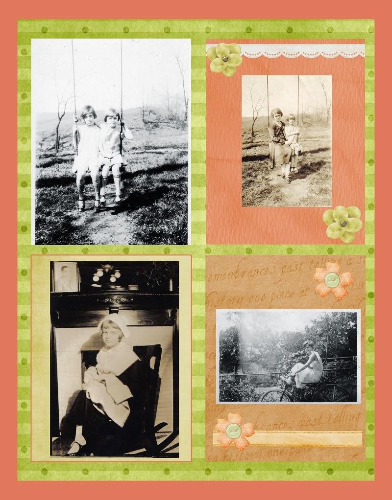 Scrapbooking with Sepia & Black & White Photos