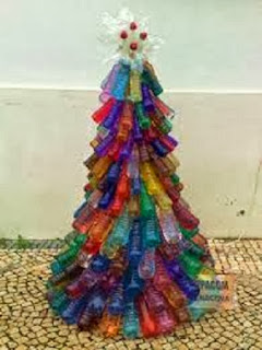 10 Ideas de Decoración para Navidad con Botellas de Plastico, III Parte