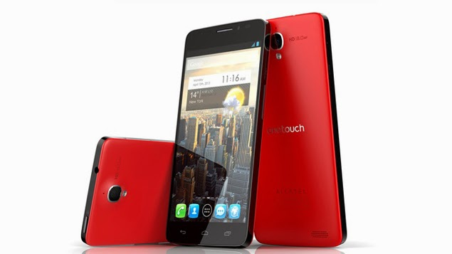 Smartphone Android Alcatel One Touch Idol X