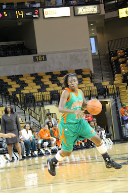 FORMER LADY JACKETS STANDOUT JALEESA BLUE