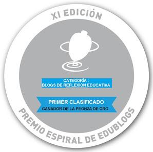 XI Edición Premio Espiral de Edublogs-2017