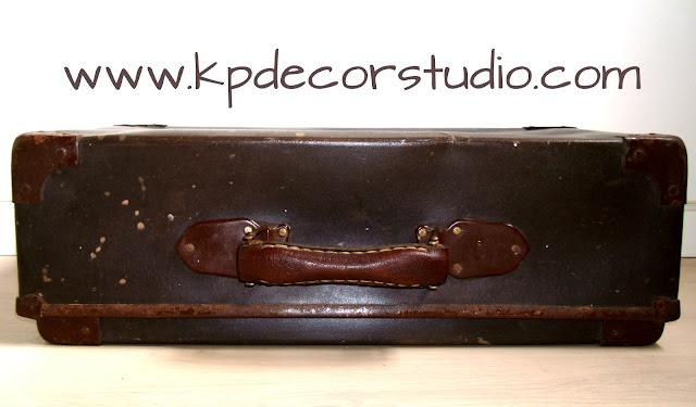 Comprar maletas vintage. Maleta antigua. original. economica. barata. especial
