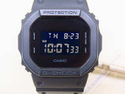 CASIO GSHOCK DW-5600BB-1ER - NEGATIVE DISPLAY