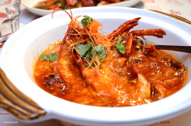 Chili Lobster - RM158++