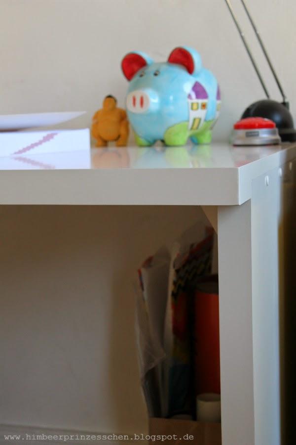 12 von 12 12 v 12 neuer weißer Schreibtisch Sparschwein