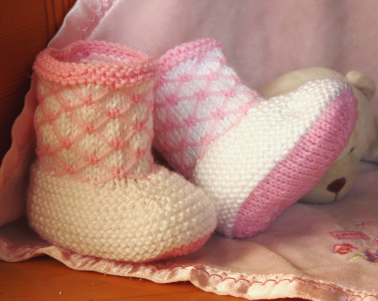 Royal Quilting Baby Booties