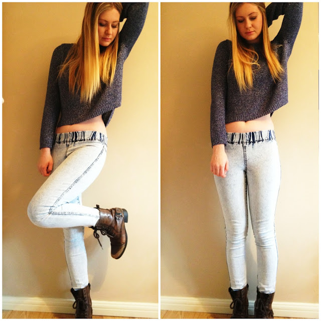 fashion, look, outfit, 90s, HM, jeggings