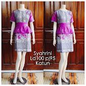 Dress Batik Solo DB 5092 Harga Reseller : Rp 80.000,-