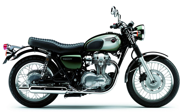 kawasaki w 800 un derroche de plagio motociclismo en biker garaje. Black Bedroom Furniture Sets. Home Design Ideas