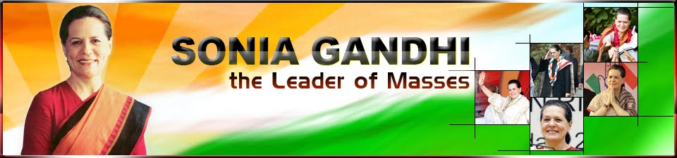 Sonia Gandhi Leader of masses