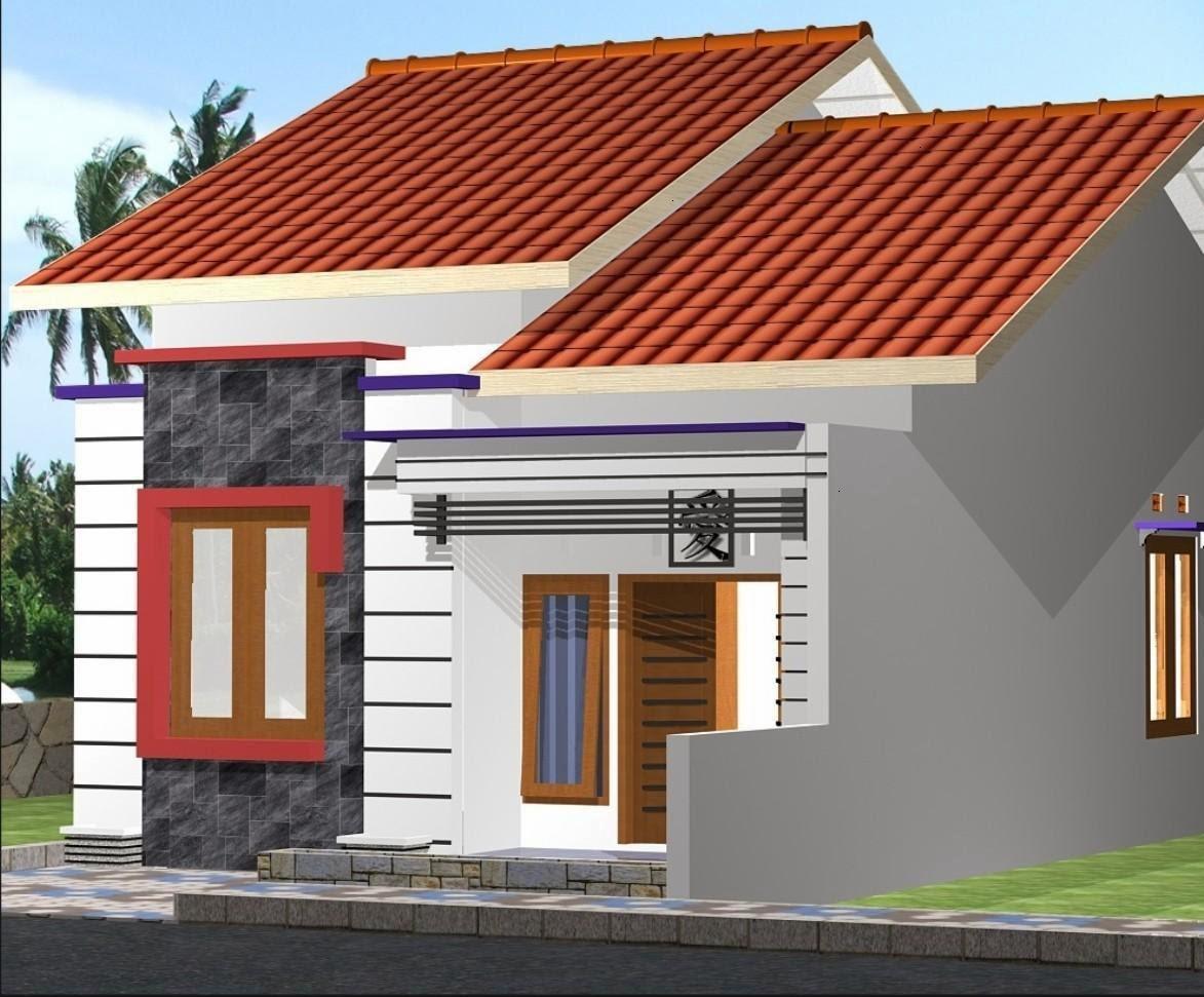 Desain Rumah Tipe 36 Tampak Depan