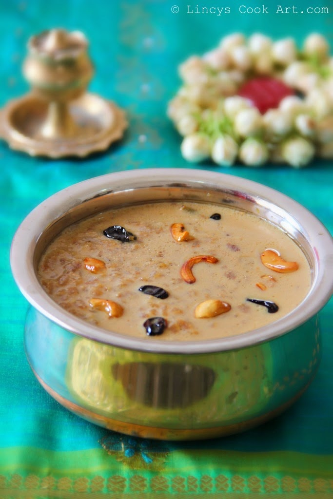 Red Rice Flakes Payasam