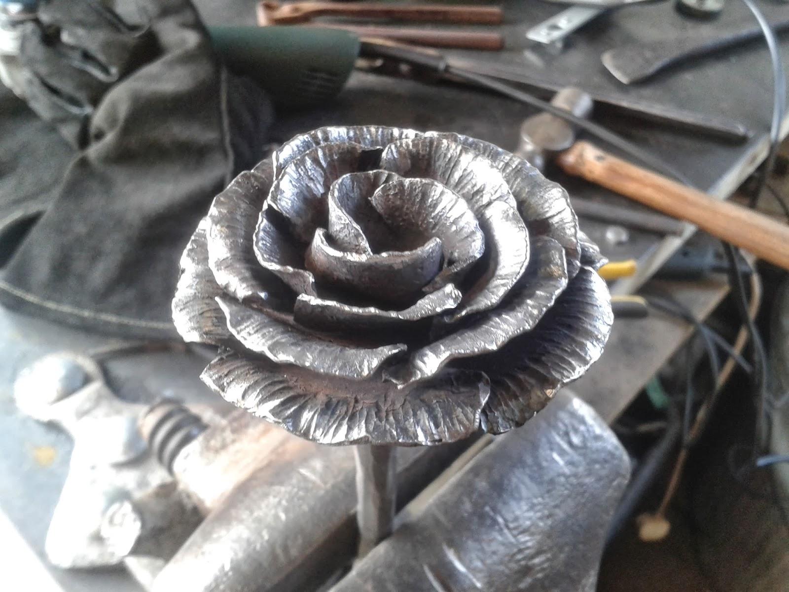 Jon Bull Artist Blacksmith More Roses