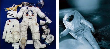 Space suit costume