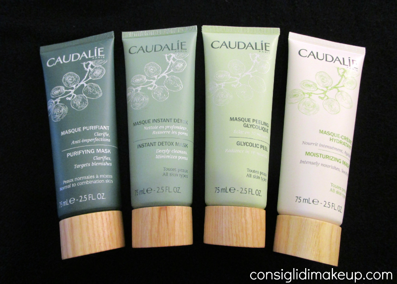 Review: Nuove Maschere Viso - Caudalie