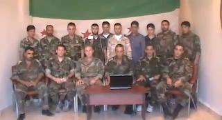 إنشقاق جماعي لضباط برتب عالية وانضمامهم للجيش السوري الحر