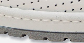 Ampliar Detalle: Cosido del zapato antideslizante Marsella Blanco - DIAN
