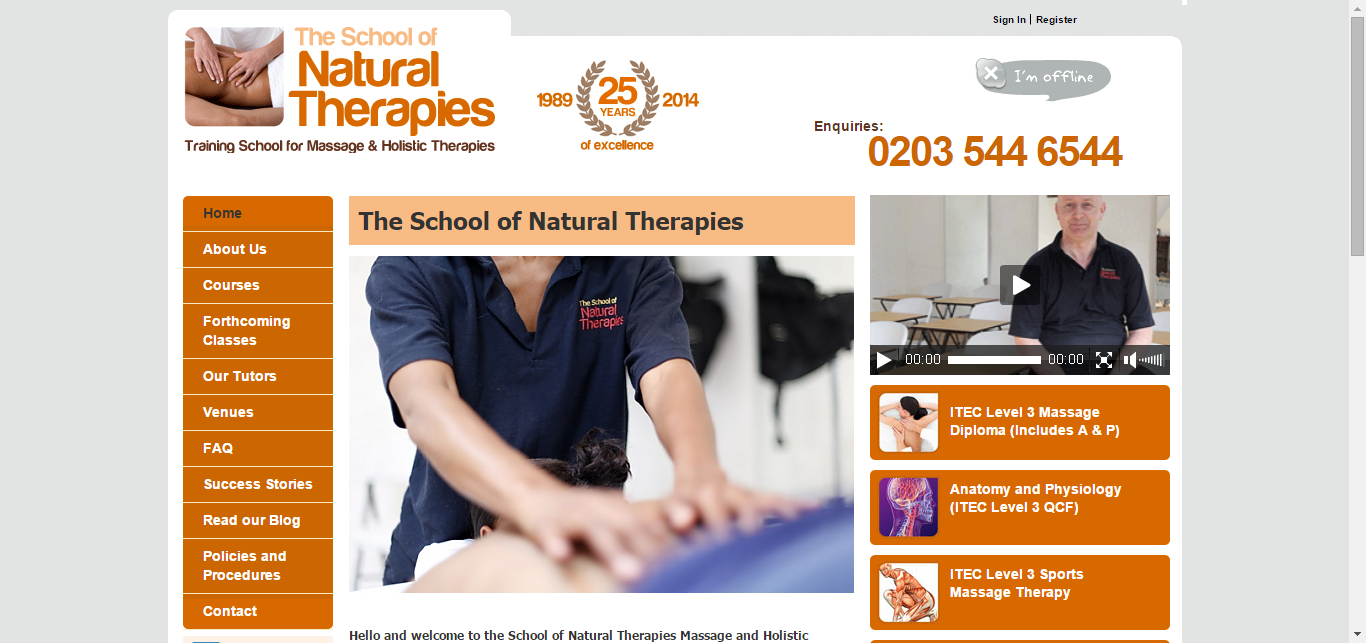 School Of Natural Therapies