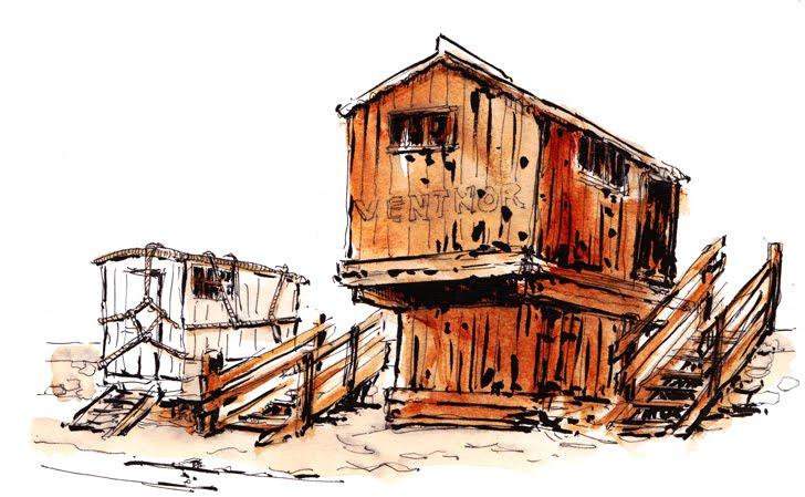 cabin at Ventnor