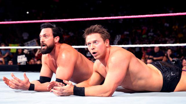 The Miz WWE Raw A lister Damien