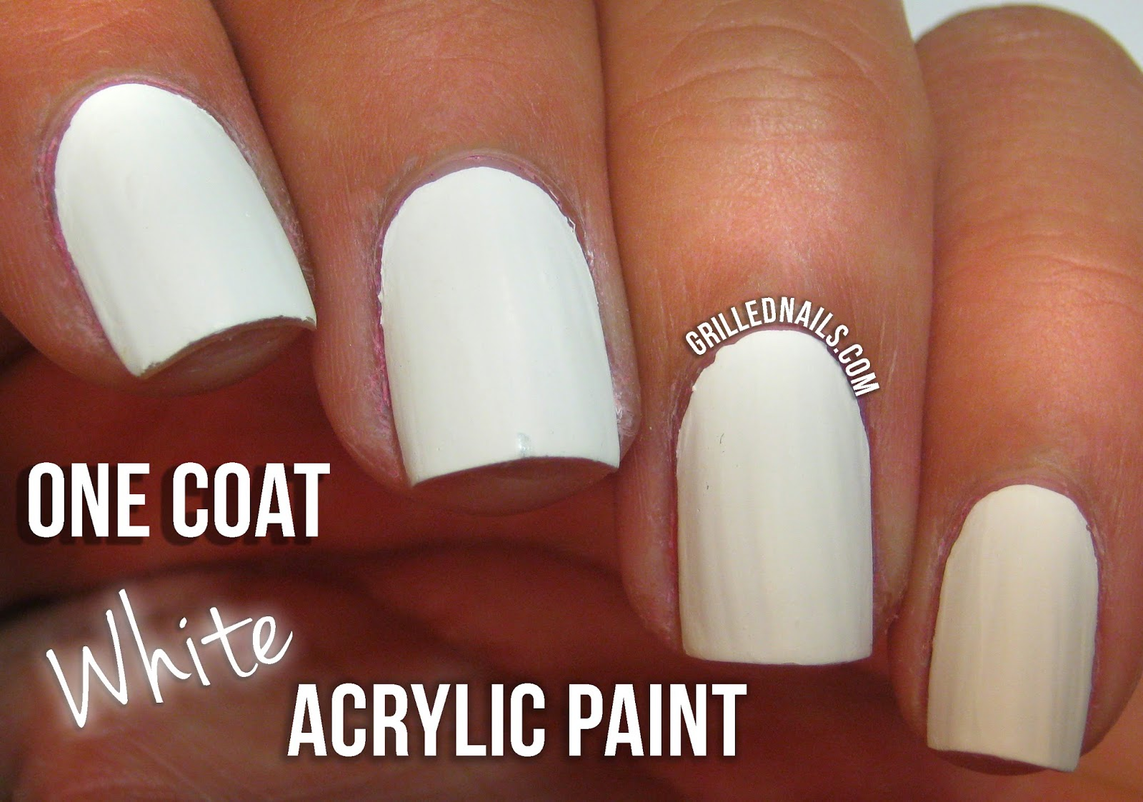 Ombre Nail Art With Acrylic Paint The Best Inspiration For Design