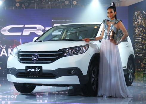 Thông tin và giá của xe Honda CR-V thế hệ ba