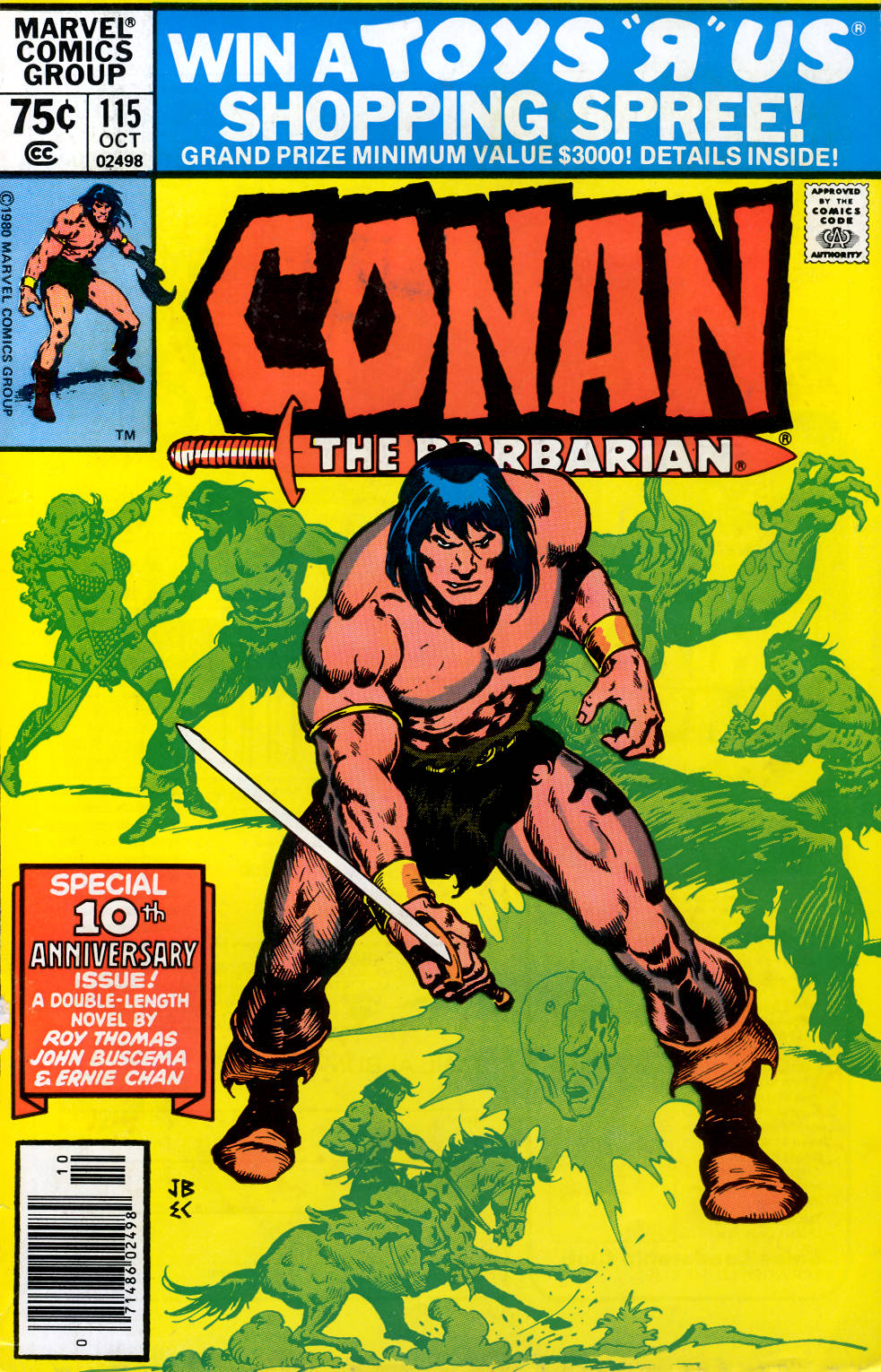 Conan the Barbarian (1970) Issue #115 #127 - English 1