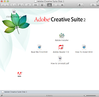 Mac OS X Mavericks. Adobe CS2 installation. Double-click Adobe Installer