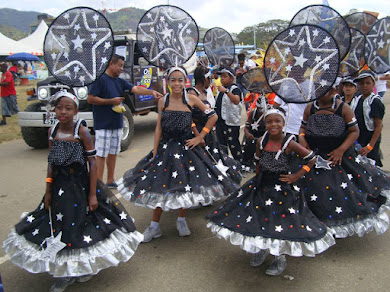 KIDDIES' CARNIVAL PARADE,  IN POS,TRINIDAD, 2015