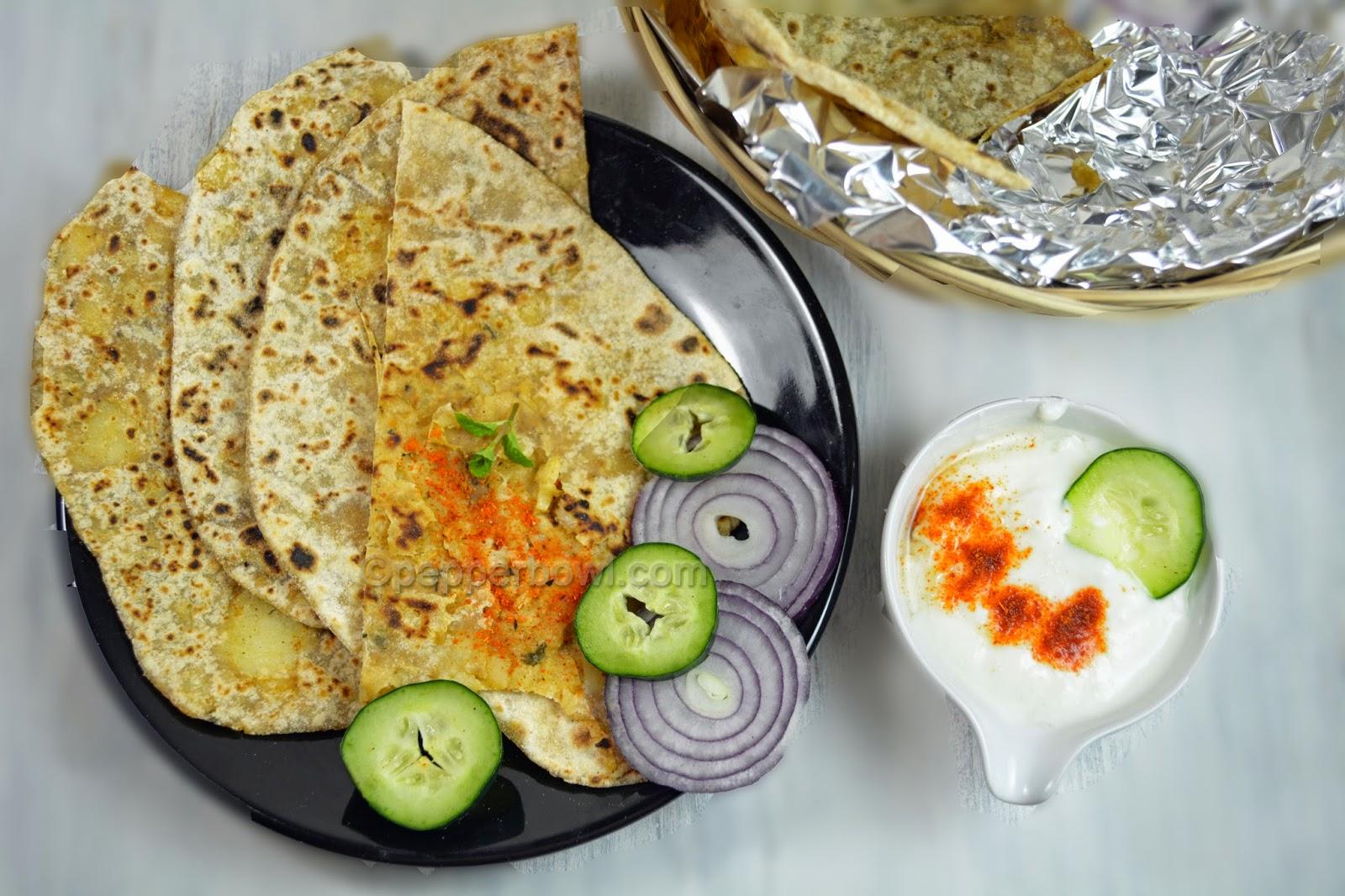 Aloo Paratha | Potato Stuffed Paratha