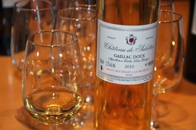 vino dulce de Le Château de Salettes. Blog Esteban Capdevila