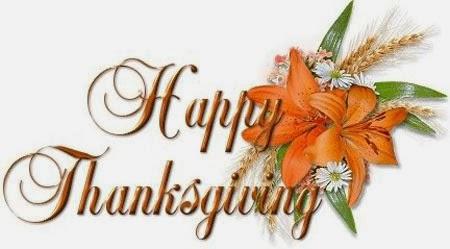 Lời tạ ơn trong ngày lễ Thanksgiving