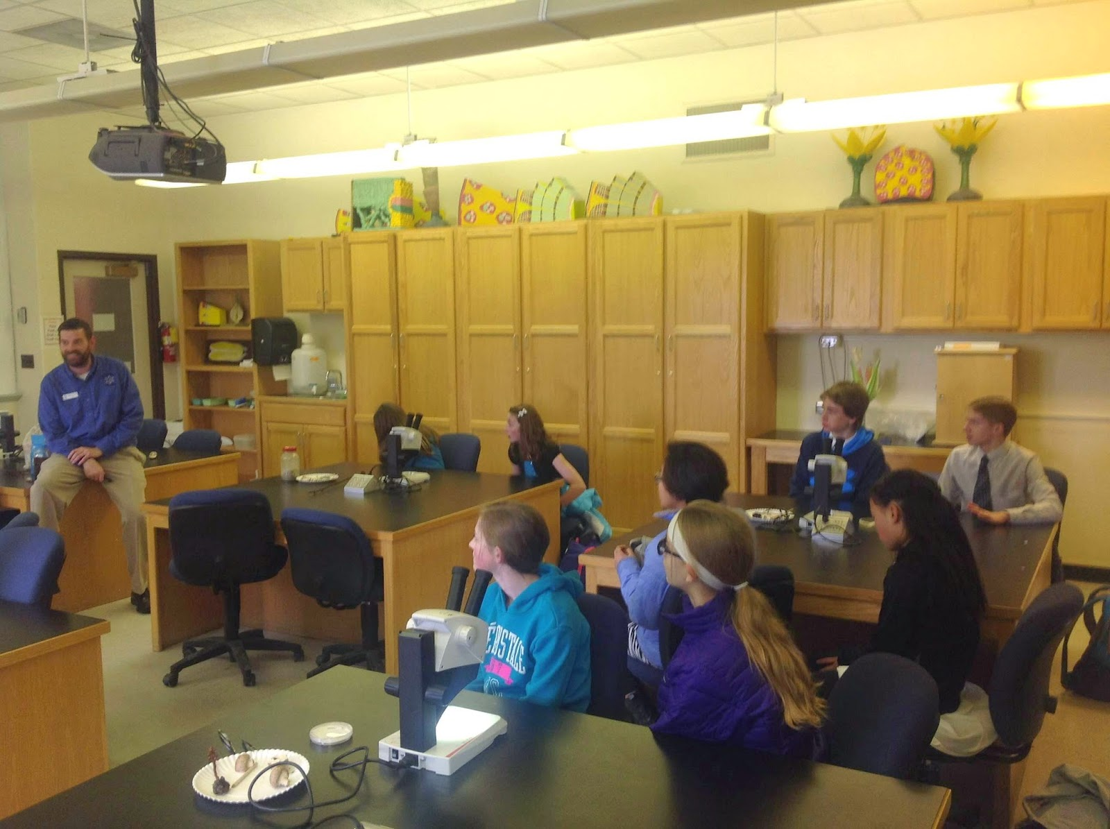 Botany Uw Lander Middle School Students Learn About Non
