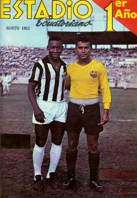 Pelé en Guayaquil 1962