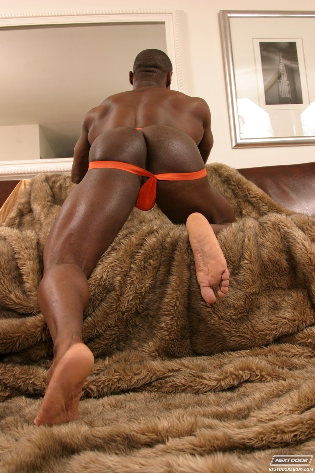Beautiful big boob ebony natural