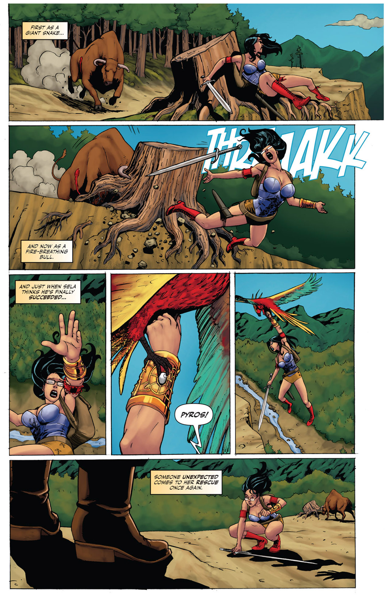 Grimm Fairy Tales (2005) Issue #53 #56 - English 4