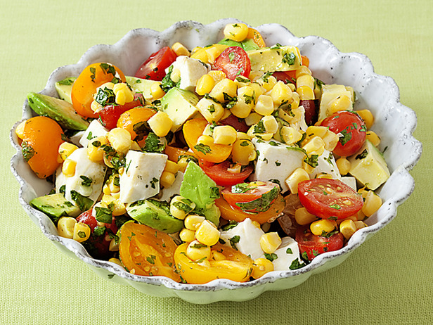My Favorite Things: Aida's Corn, Tomato and Avocado Salad