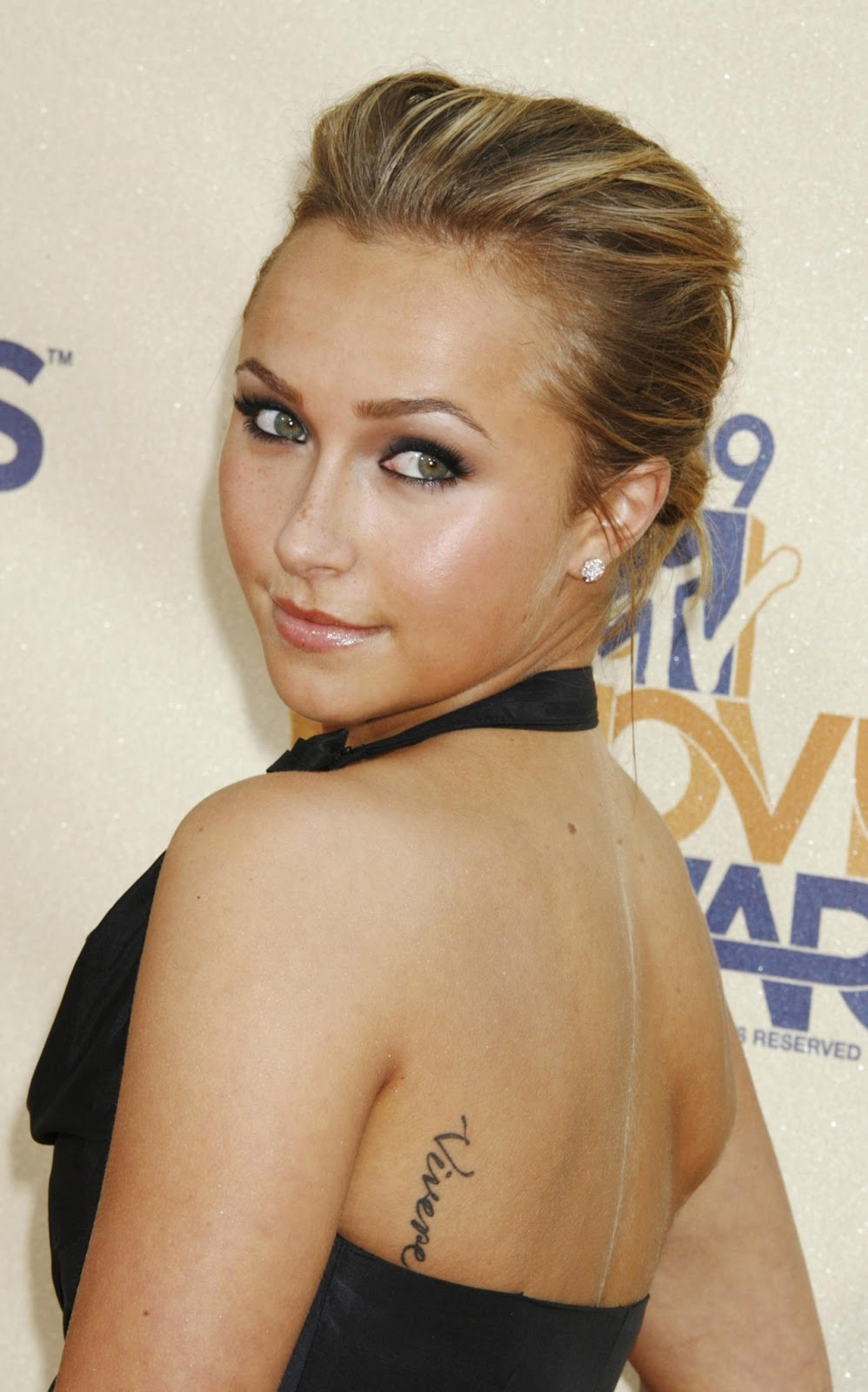 Hayden Panettiere Tattooed But Ironically, It's Spelled Wrong