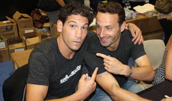 Andrew Lincoln y Jon Bernthal The Walking Dead