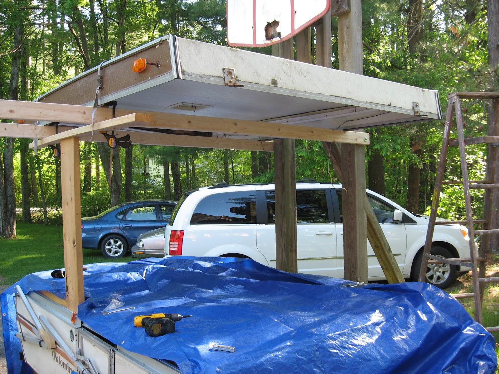 Pop Up Camper Repair   Part 1 Letu0027s Remove The Roof