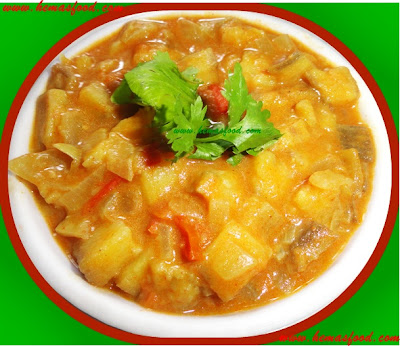 Plantain Tomato Curry