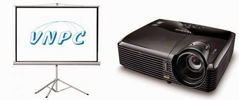 Thuê máy chiếu có lắp đặt tần nơi tại TP.HCM