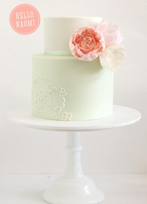 Hello Naomi Wedding Cakes