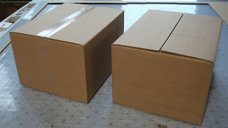 corrugated cardboard package testing