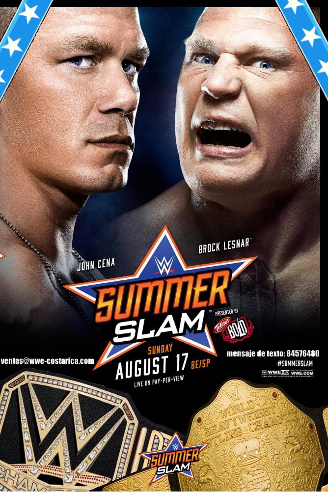 Summerslam 2014 a la venta desde el 19 de Agosto!