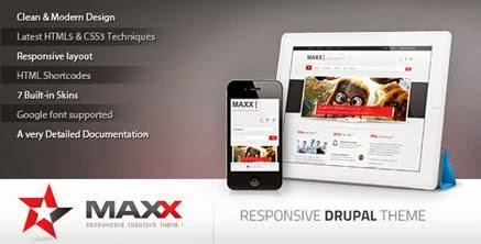 Maxx – Themeforest Responsive Creative Drupal theme