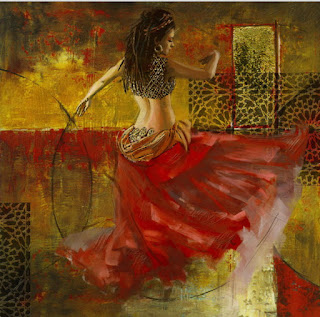 Pinturas Modernas Mujeres Orientales